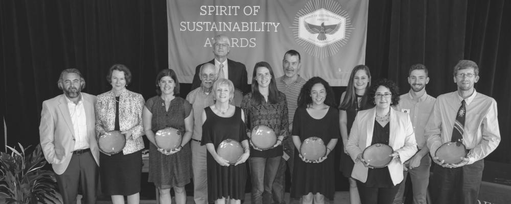 Photo of 2017 Spirit of Sustainability Awardees