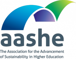 AASHE The Association for the Advancement of Sustainability in Higher Education Logo