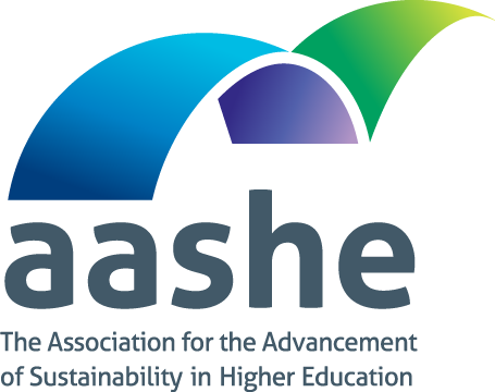 Logo for the Association for the Advancement of Sustainability in Higher Education