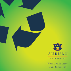 Waste Reduction and Recycling Department Logo