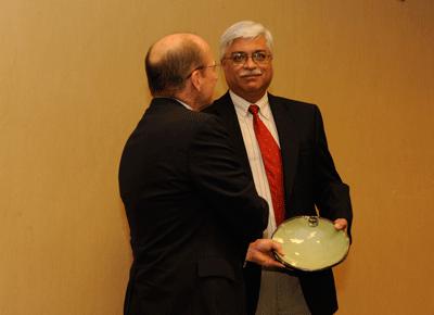 Photo of Sushil Bhavnani and Mike Kensler
