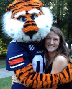 Photo of Rosa Cantrell and Aubie