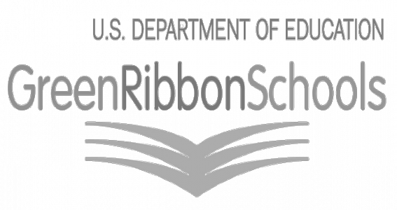 Green Ribbon Schools Logo Clear BW