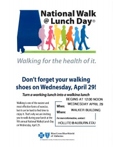 National Walk at Lunch Day @ Walker Building | Auburn | Alabama | United States