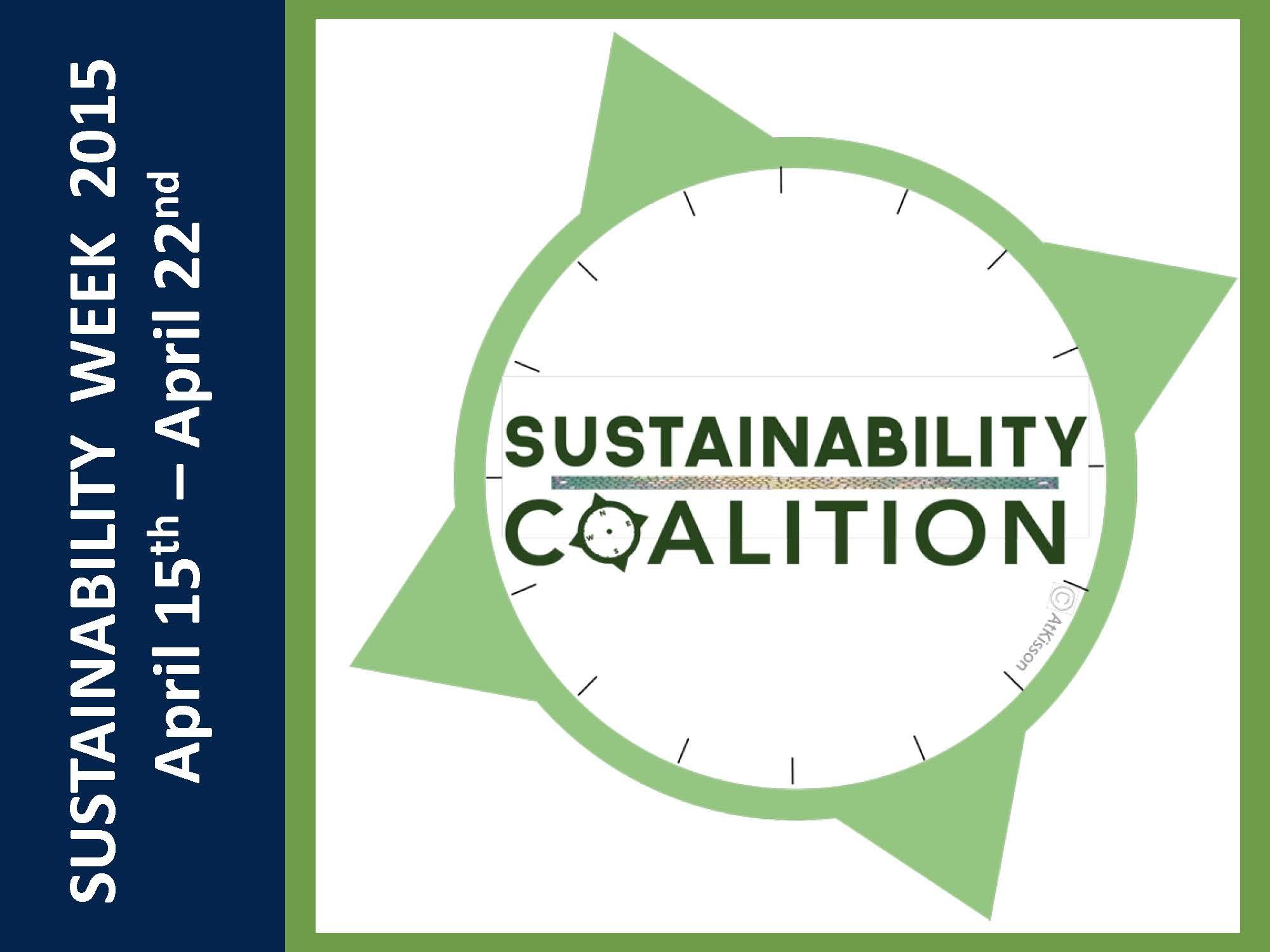 Sustainability Coalition Hosts Sustainability Week 2015