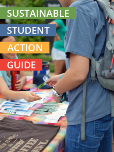 Photo of Sustainable Student Action Guide Cover