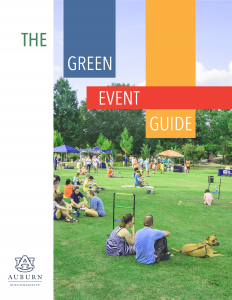 Auburn Green Event Guide Cover