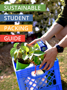 Photo of Sustainable Student Packing Guide Cover