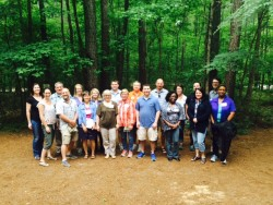 Faculty participants in the 2015 Fall Line Sustainability Workshop