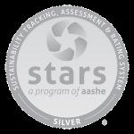 Logo of AASHE STARS Silver Award