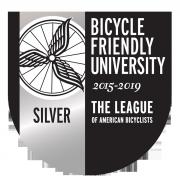 Silver Bicycle Friendly University Logo