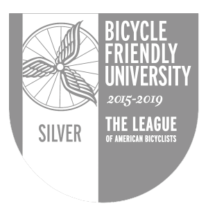 Logo of Bicycle Friendly University 2015-2019 Silver Award