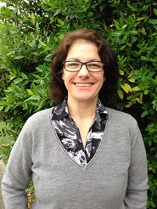 Photo of Joan Hicken who works to provide the Auburn Family with recycling options while on campus.
