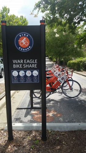 Photo of War Eagle Bike Share Hub