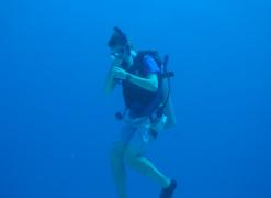 Photo of Matt Preisser scuba diving