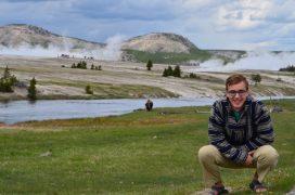 Photo of Matt Preisser at Yellowstone National Park