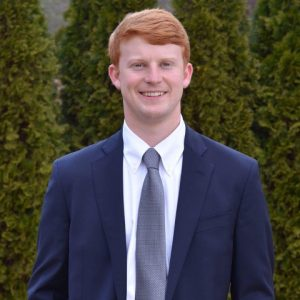 Portrait of Student Government Association President, Jesse Westerhouse