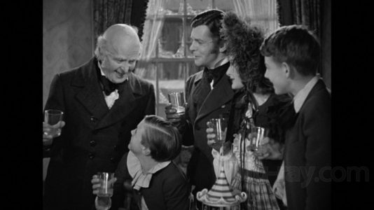 """Photo from the 1938 Film """"A Christmas Carol"""""""