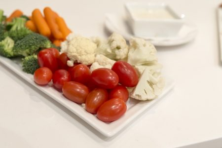 Photo of plate of vegetables.