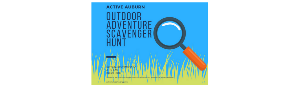 Outdoor Adventure Scavenger Hunt Auburn University