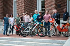 Photo of Group at Bike Month Proclamation