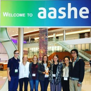 Interns at AASHE