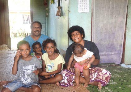 Photo of Fijian Family
