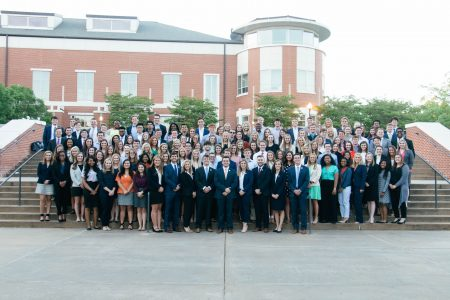 Photo of the Student Government Association members for 2018-19.
