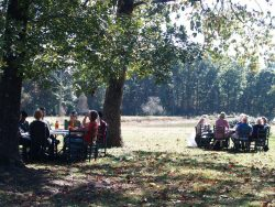 Round Table Discussion at Regional Food & Farm Forum in Mentone, Photo Credit: Alice Evans