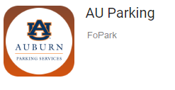 Image of AU Parking Application Icon