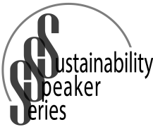 Logo for the Sustainability Speaker Series