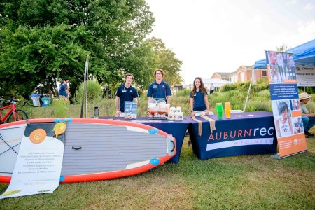 Auburn Outdoors & Campus Recreation at Sustainability Picnic