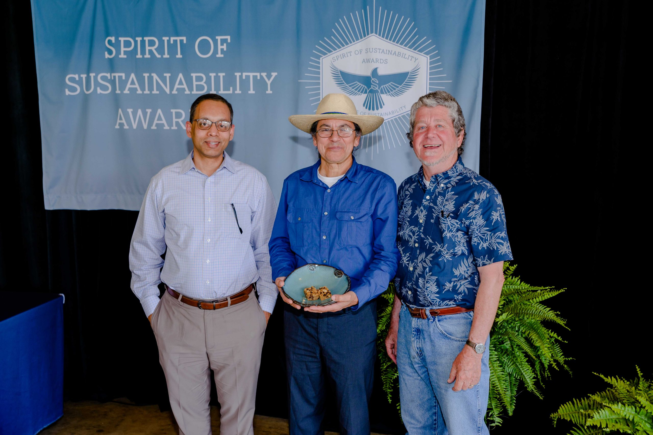 Sergio with Puneet Srivastava and Bill Deutsch