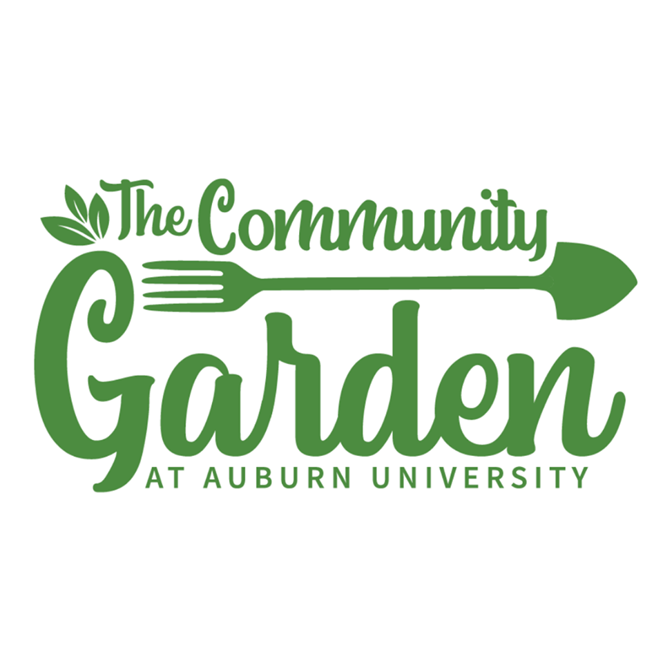 Logo for the Community Garden at Auburn University