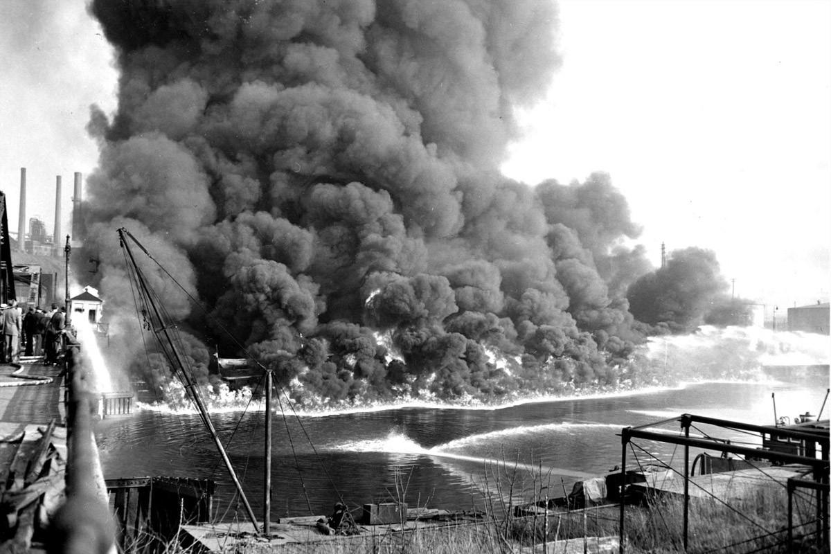 Cuyahoga River 1952