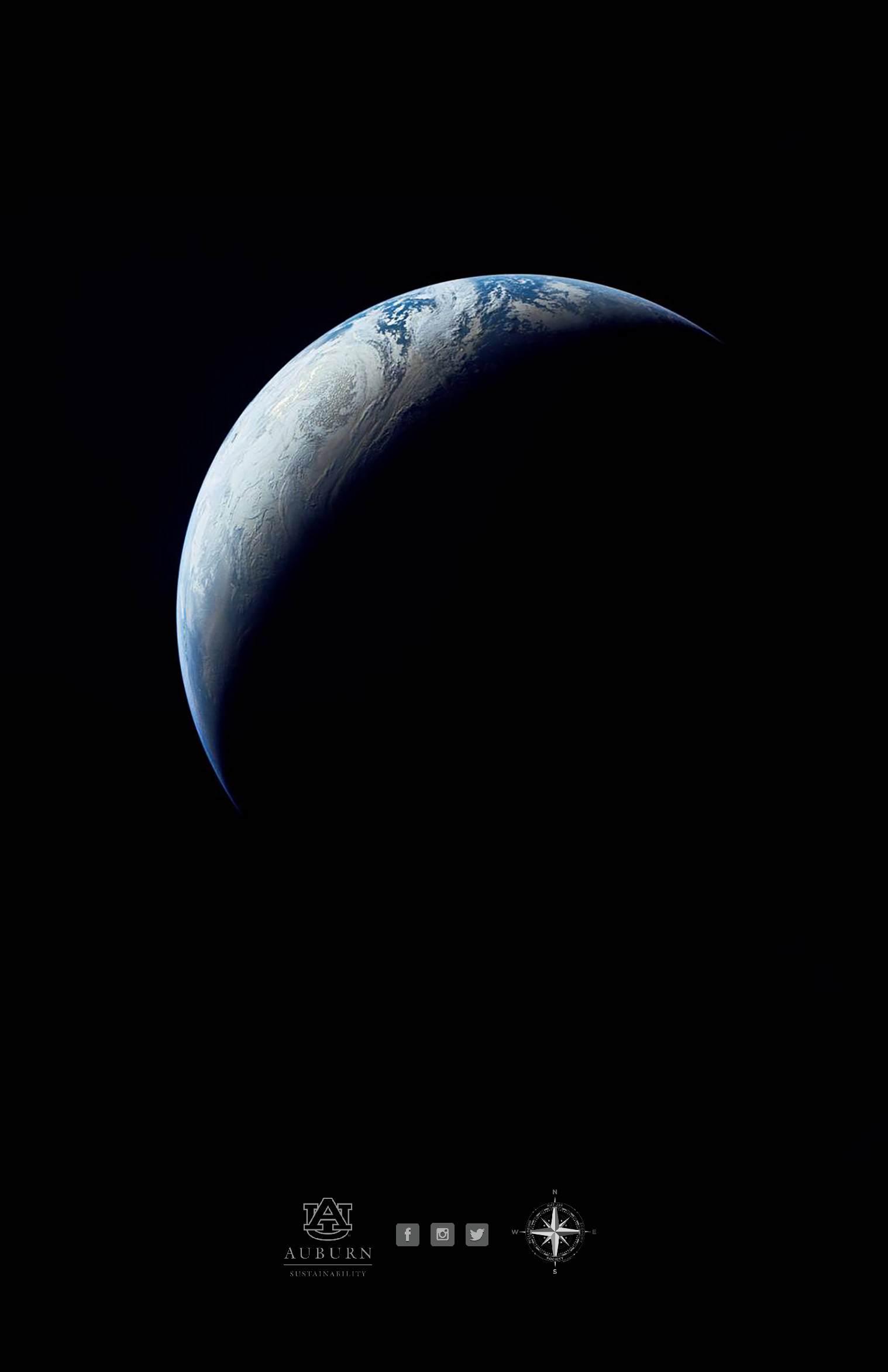 Photo of Earth from outer space.