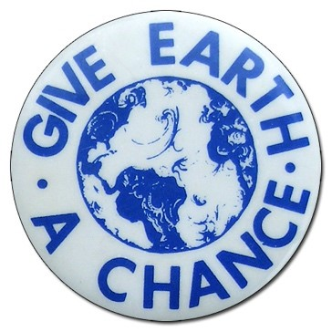 Give Earth a Chance Button
