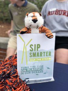 skip the straw signage