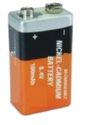 Picture of a Nickel Cadmium Battery
