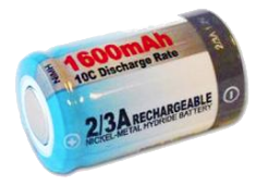 Picture of a Nickel Metal Hydride Battery