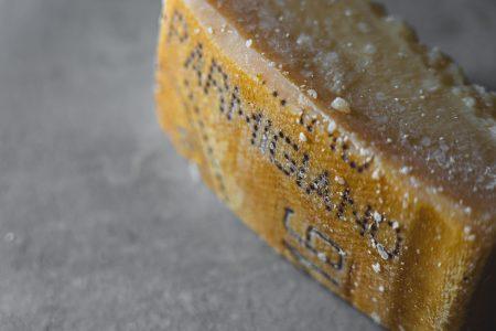 Photo of parmigiano cheese.