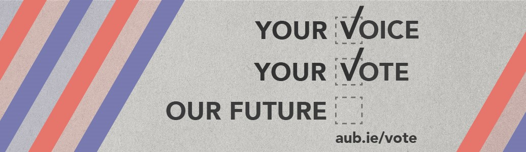 "Graphic reading: ""Your Voice, Your Vote, Our Future."""