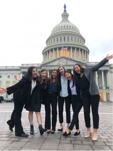 Auburn IJM leadership team members in Washington, DC for the 2019 IJM Advocacy Summit