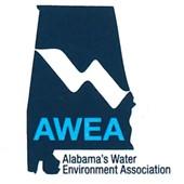 Shape of Alabama the state, AWEA logo