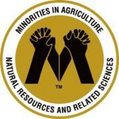 Logo for the Minorities in Ag, Natural resources and related sciences club