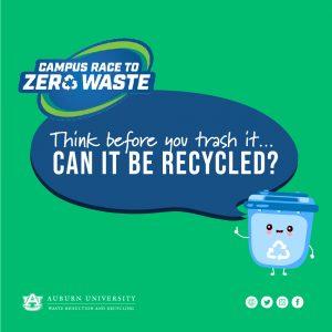 Campus Race to Zero Waste Logo