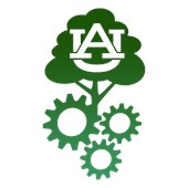 Green AU logo of the Sustainable Biomaterials and Packaging Society