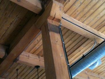 Wood frames attached together