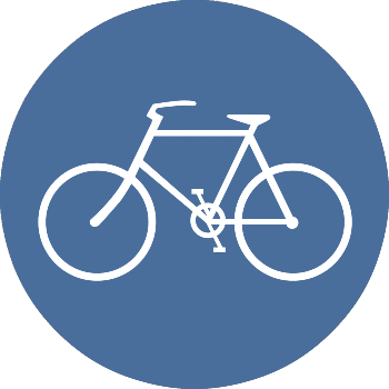 Icon of a bicycle.